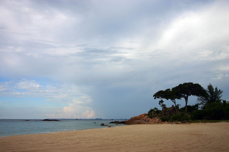 Download Tropical Beach Nature Landscape View Stock Image - Image: 4954901