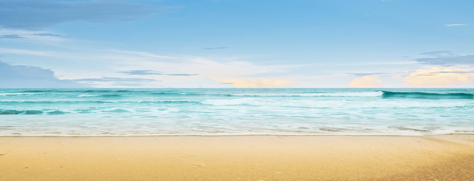 Download Tropical beach and ocean stock image. Image of sand, horizontal - 42439477