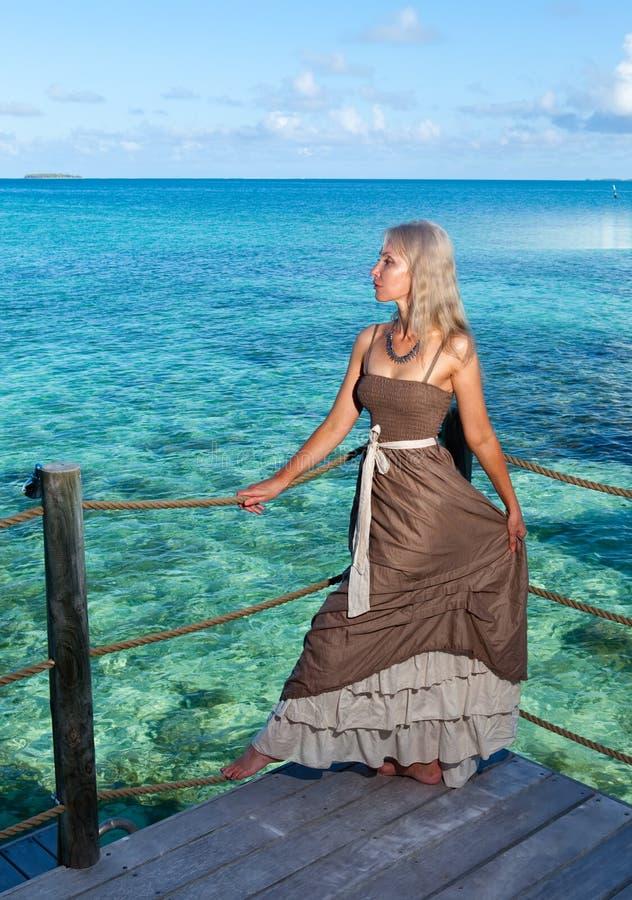 Download Tropical Beach. Polynesia. Island Tikehau. Stock Photo - Image: 27074034