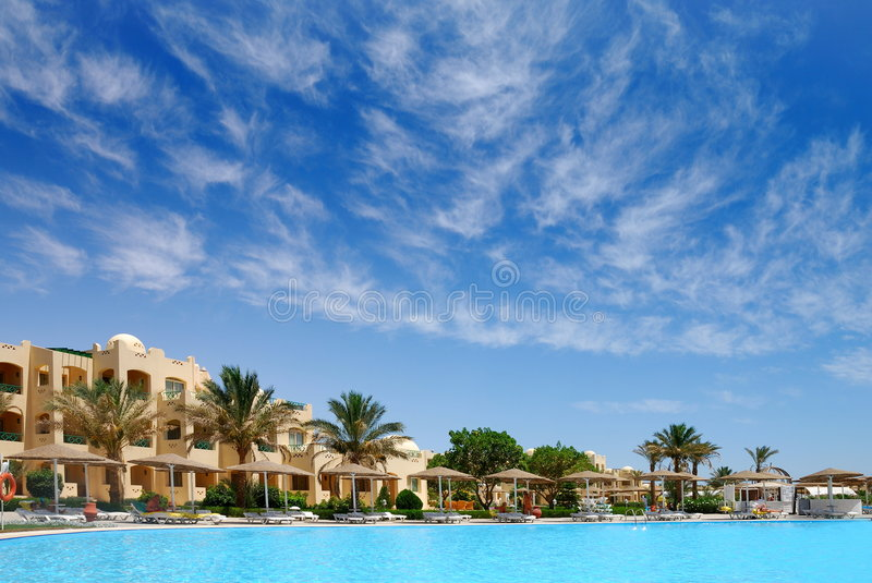 Download Tropical Beach Resort Royalty Free Stock Photography - Image: 2626297