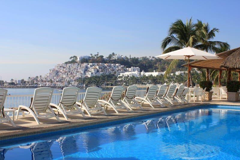 Download Tropical beach resort pool stock photo. Image of travel - 18534628