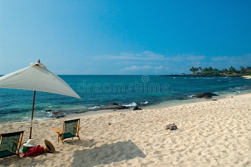 Download Tropical beach scene stock photo. Image of clear, tropical - 1286256