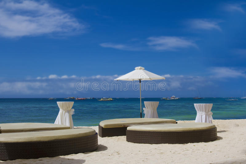 Download Tropical beach seascape stock image. Image of boracay - 28299125