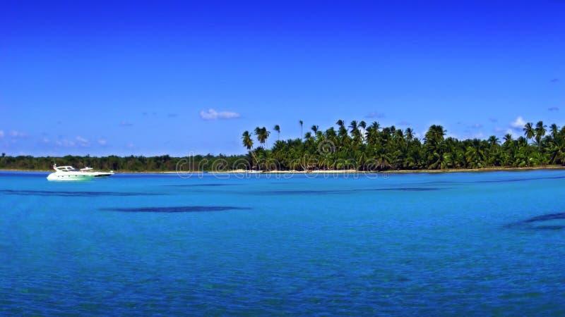 Tropical beach-some grain stock photography