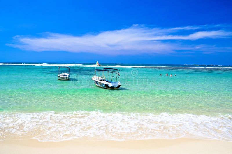Download Tropical Beach In Sri Lanka Stock Photo - Image of seascape, idyllic: 34829136