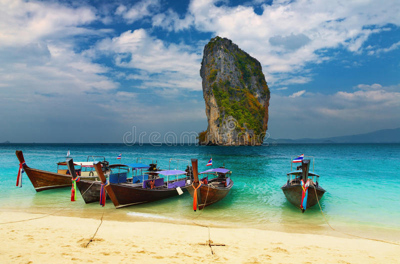 Download Tropical beach, Thailand stock photo. Image of destination - 15732824