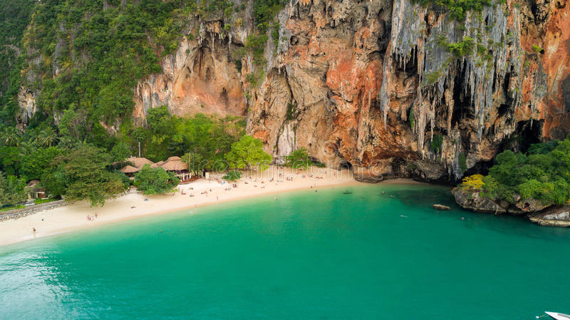 Download Tropical beach in Thailand stock photo. Image of shore - 83717720