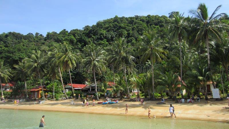 Tropical Beach Thailand Editorial Photo