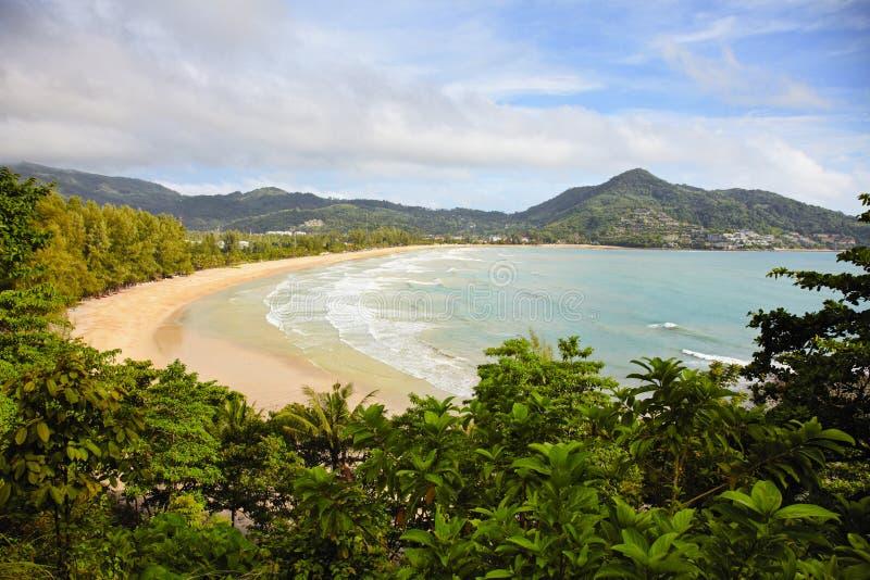 Download Tropical Beach - Thailand, Phuket, Kamala Stock Photo - Image of ocean, mountain: 26410502