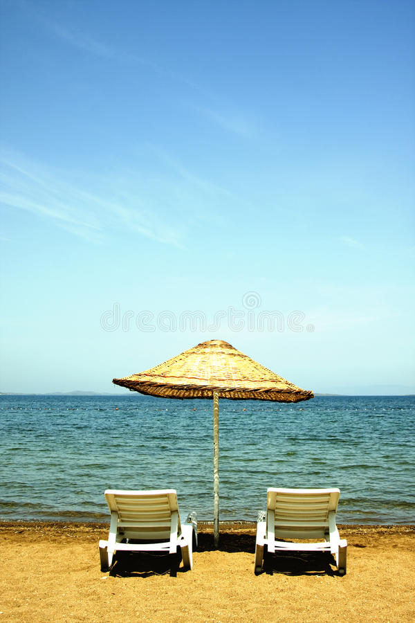 Tropical Beach view royalty free stock image