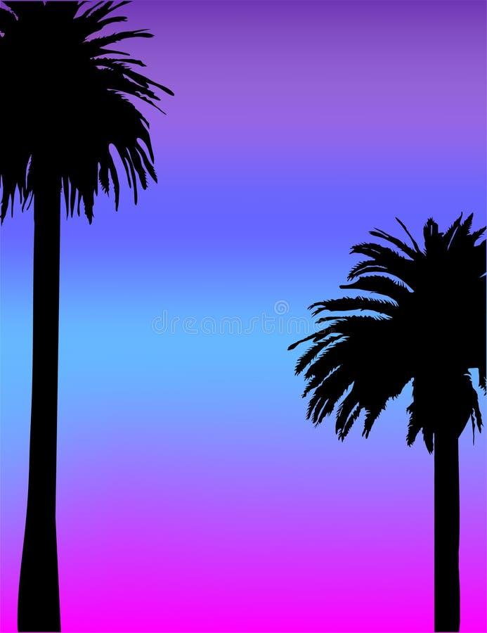 tropical brillant de fond illustration libre de droits