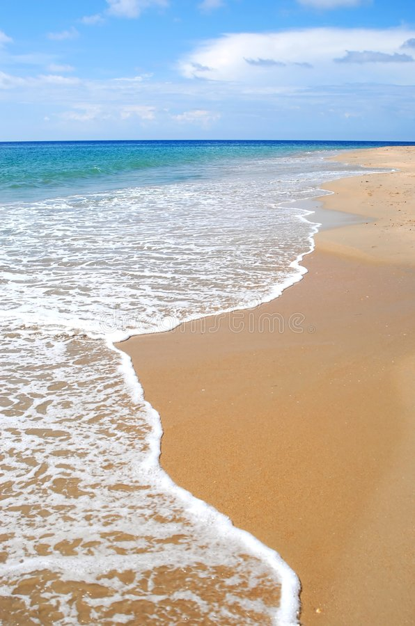 Download Tropical caribbean beach stock image. Image of horizon - 2951185