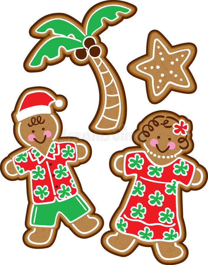 Free Tropical Christmas Cookies Royalty Free Stock Photography - 11688827