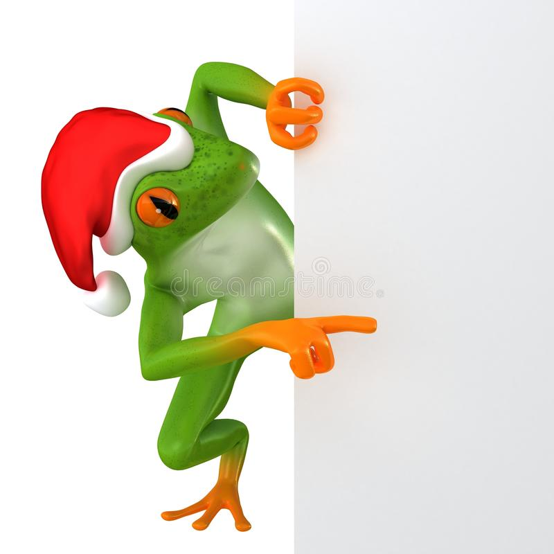 Free Tropical Christmas Frog Royalty Free Stock Photo - 63234005