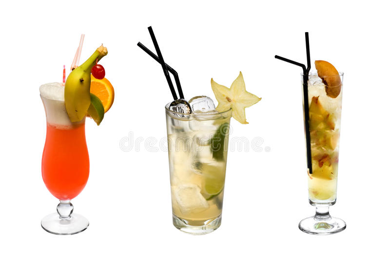 Download Tropical cocktails stock image. Image of berry, dessert - 12195255