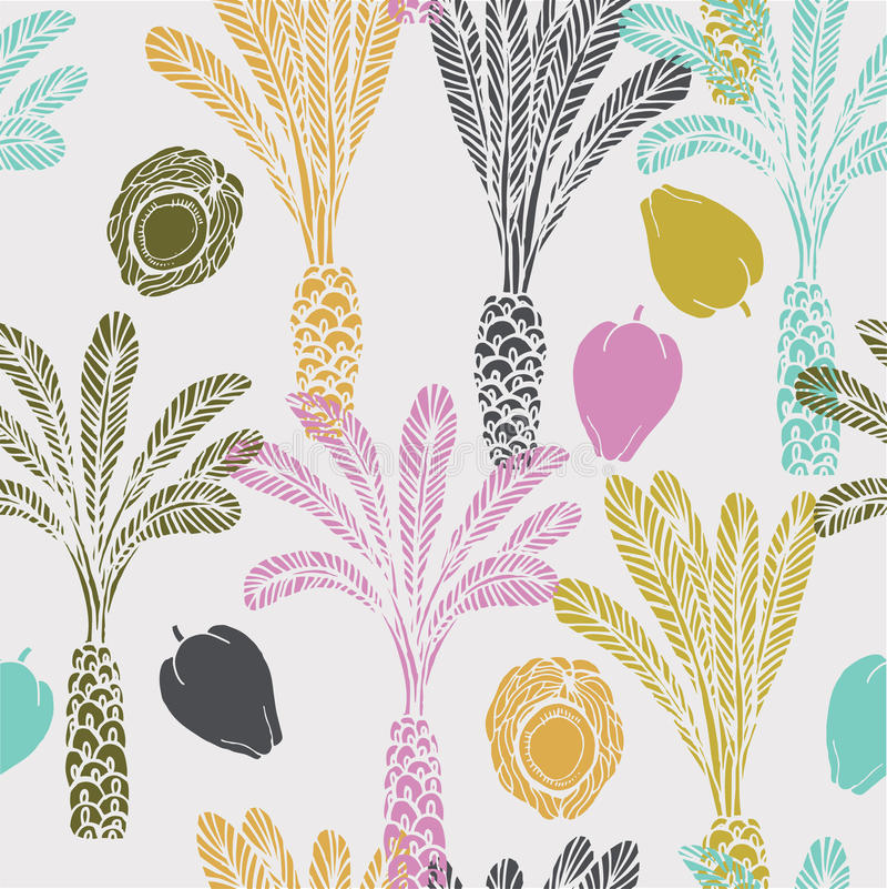 Download Tropical Coconut Palm Illustration Stock Illustration - Image: 23800221