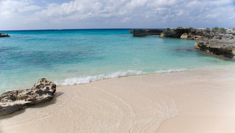 Tropical Cove royalty free stock photo