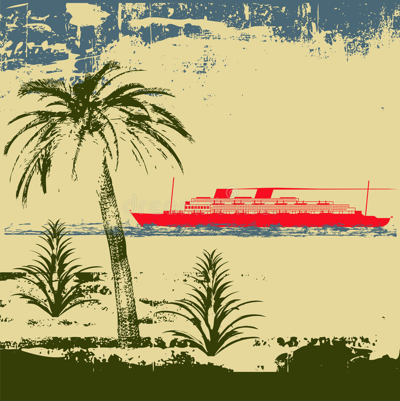 Download Tropical Cruise Background Stock Photography - Image: 9168762