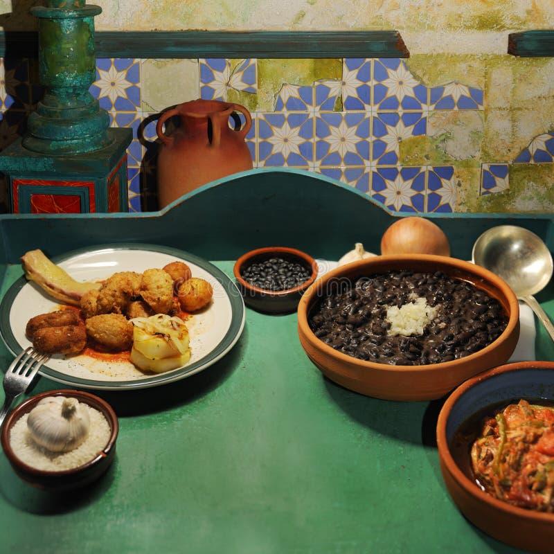 Tropical cuisine stock photos