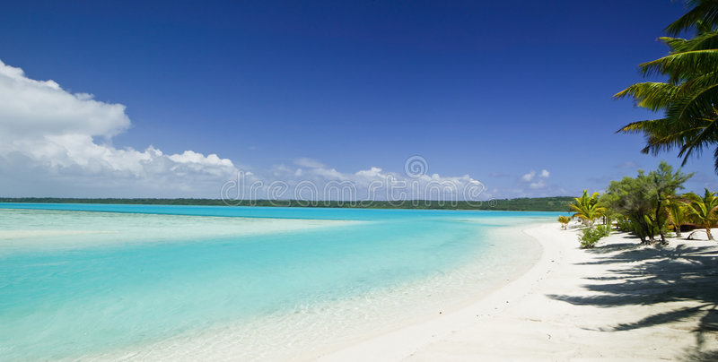 Tropical Dream Beach Paradise Royalty Free Stock Photography