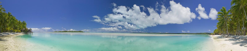 Download Tropical Dream Beach Paradise Panoramic Stock Image - Image: 6571869
