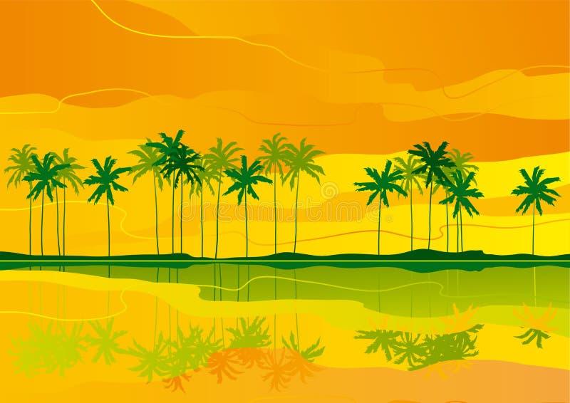 Download Tropical dreams stock vector. Illustration of horizon - 29678815