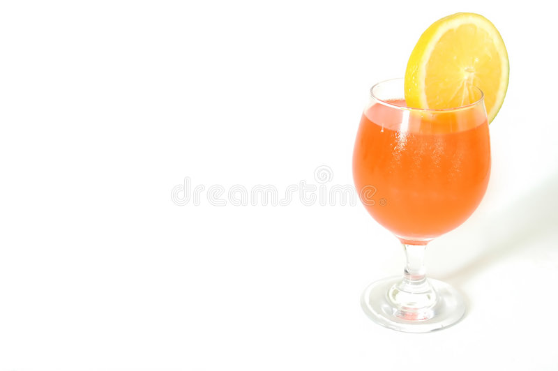 Tropical Drink Background stock photography
