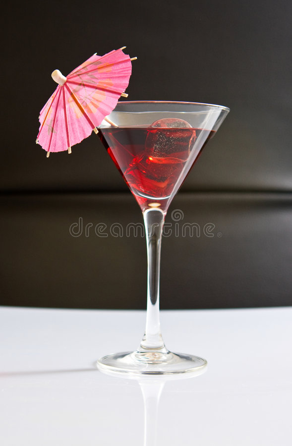Download Tropical drink on ice stock photo. Image of umbrella, alcohol - 5958688