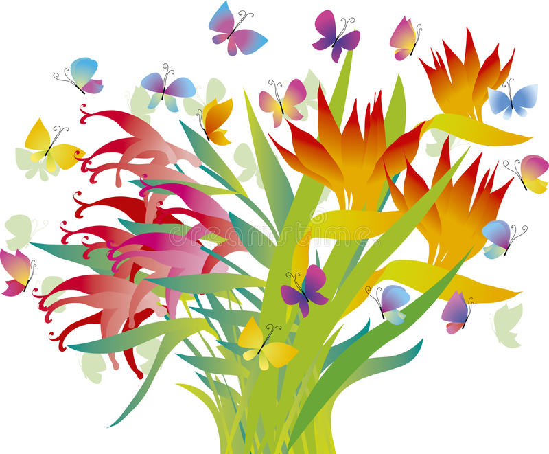 Download Tropical Flowers Stock Photography - Image: 23204132