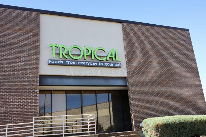 Tropical Foods Company, Memphis, TN fotografía de archivo libre de regalías
