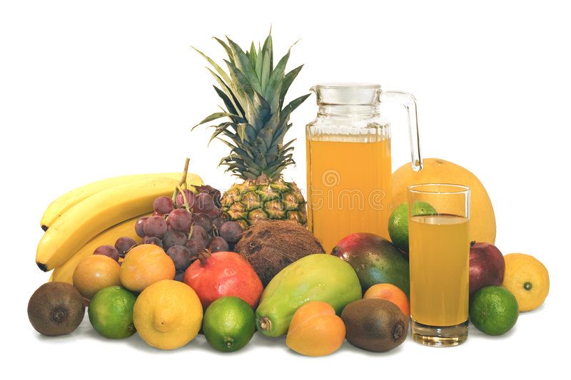 Tropical fruit stock image