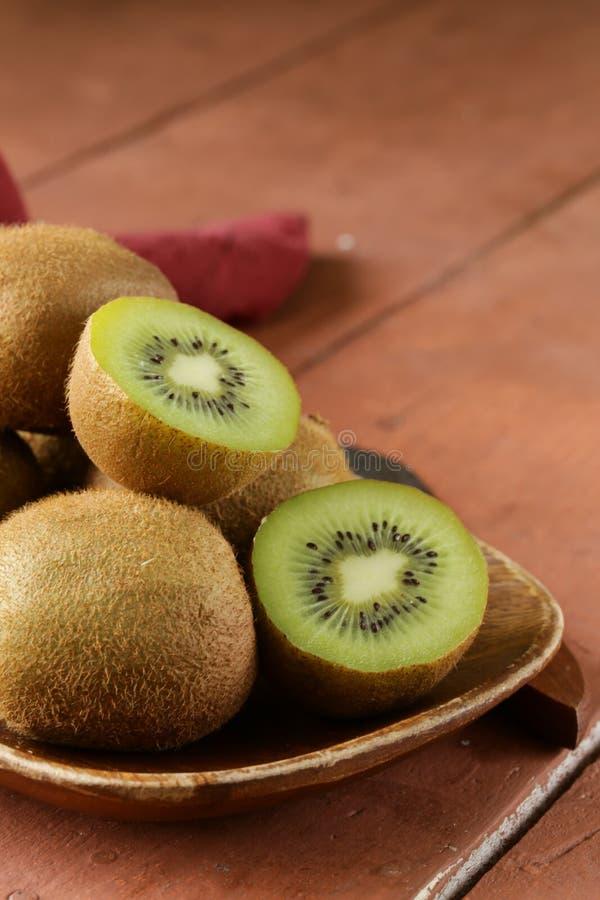 Tropical fruit fresh sweet ripe kiwi stock photography
