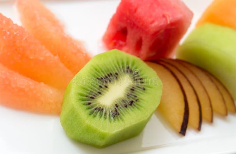 Tropical fruit and kiwi stock photos