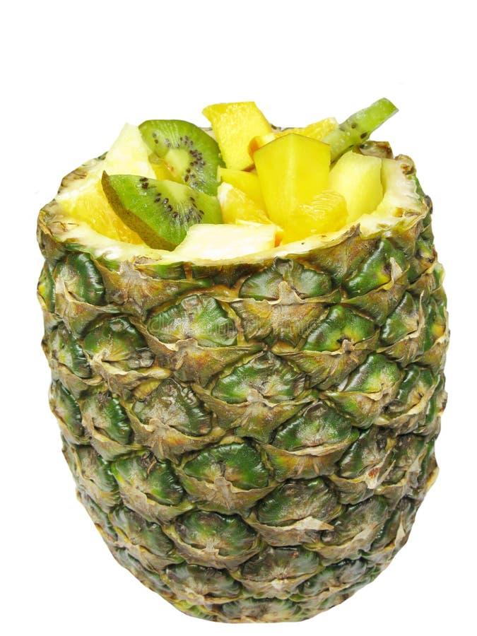 Tropical Fruit Salad Stock Photos