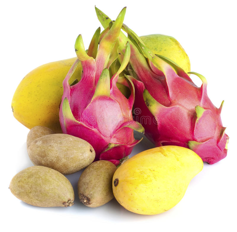 Download Tropical fruits stock photo. Image of colourful, colorful - 13935112