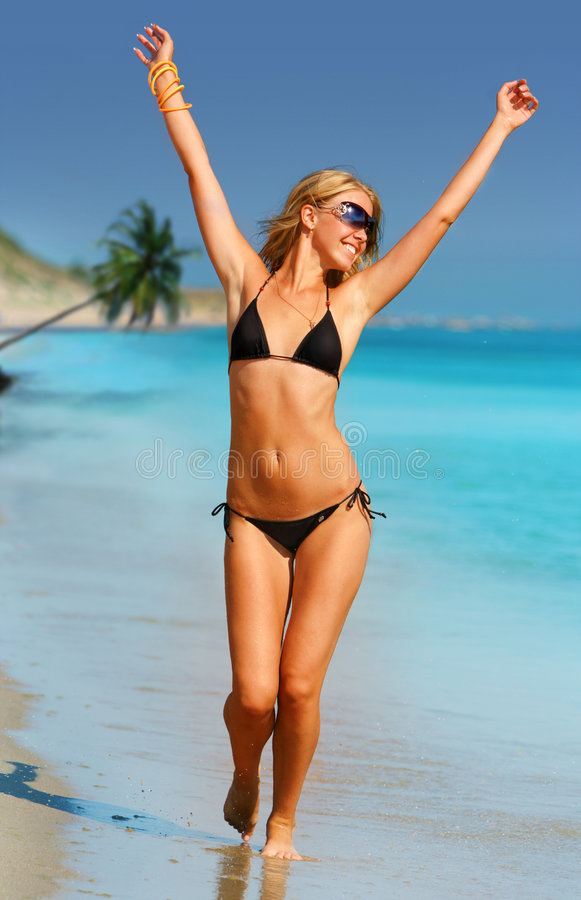 Tropical Girl royalty free stock photography