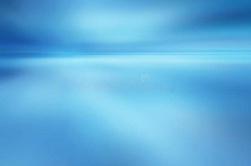 Tropical horizon abstract background vector illustration