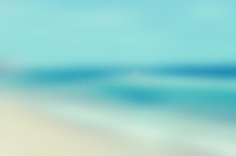 Tropical horizon abstract background stock images