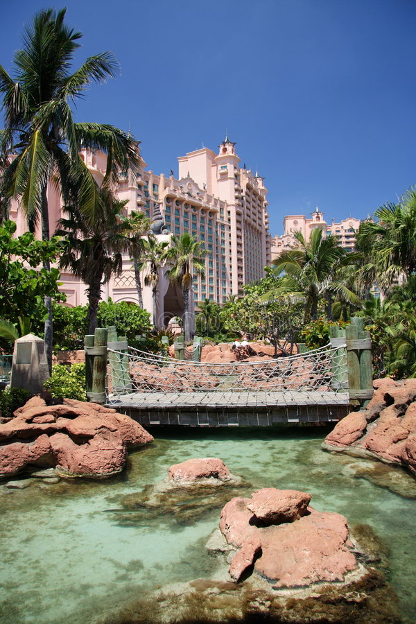 Tropical Hotel Resort stock images