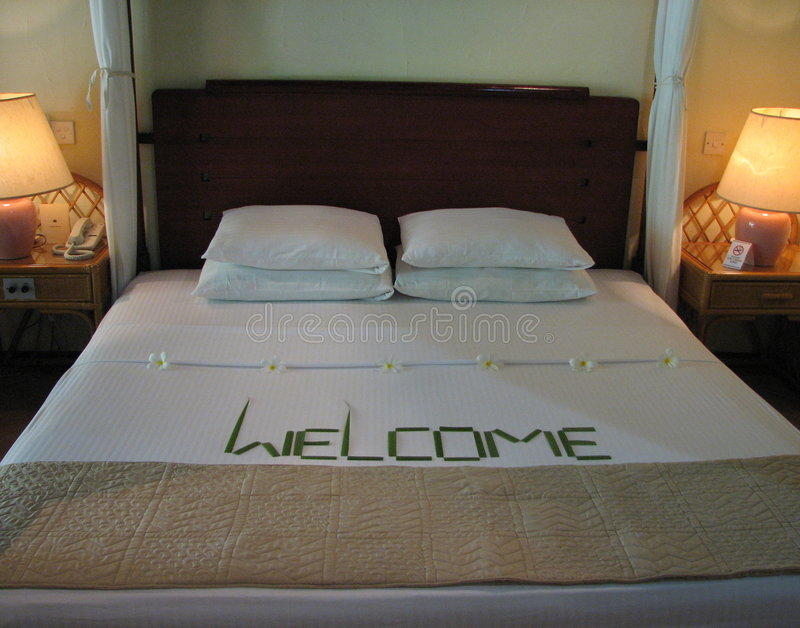 Tropical Hotel Room Royalty Free Stock Photos