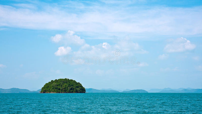 Tropical Island royalty free stock photo