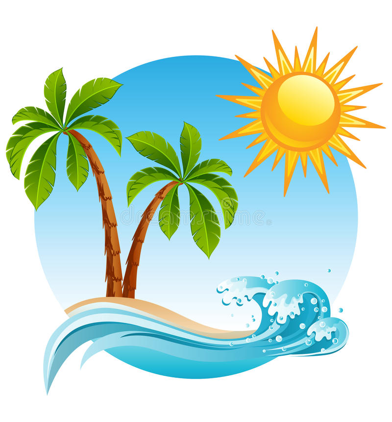 Free Tropical Island Royalty Free Stock Image - 14129336