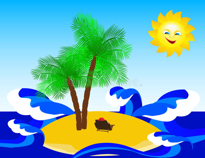 Download Tropical Island. Stock Photos - Image: 14341243