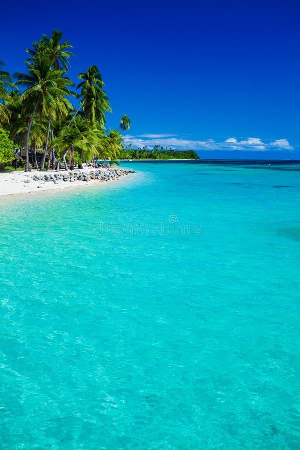 Free Tropical Island In Fiji With Sandy Beach Royalty Free Stock Photos - 28870698