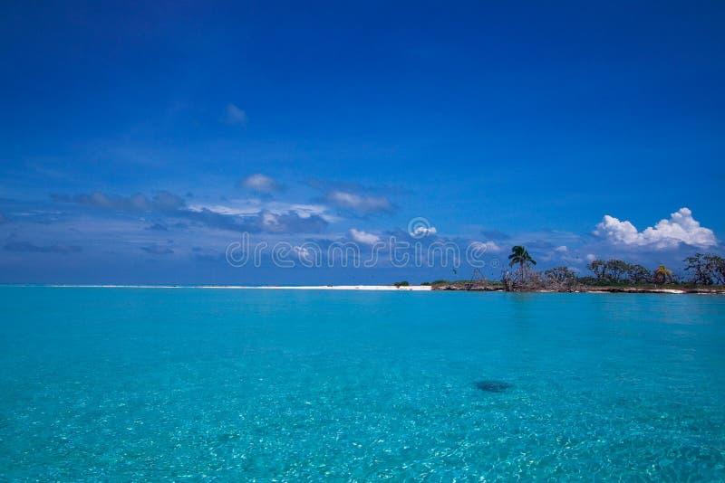 Tropical island paradise stock photography