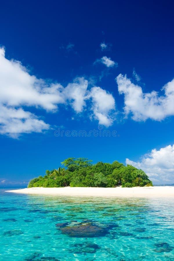 Tropical Island Paradise Royalty Free Stock Photos