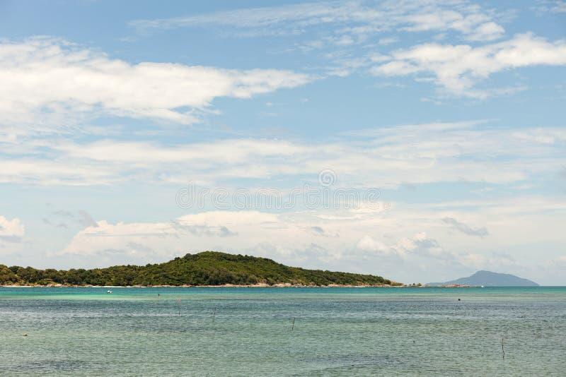 Tropical island ,rawai beach phuket thailand. stock image