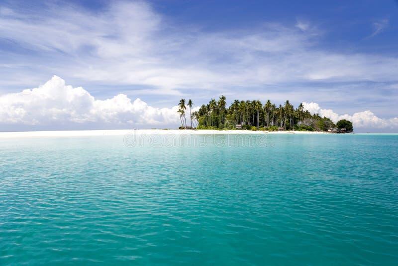 Tropical Island and Sea stock image
