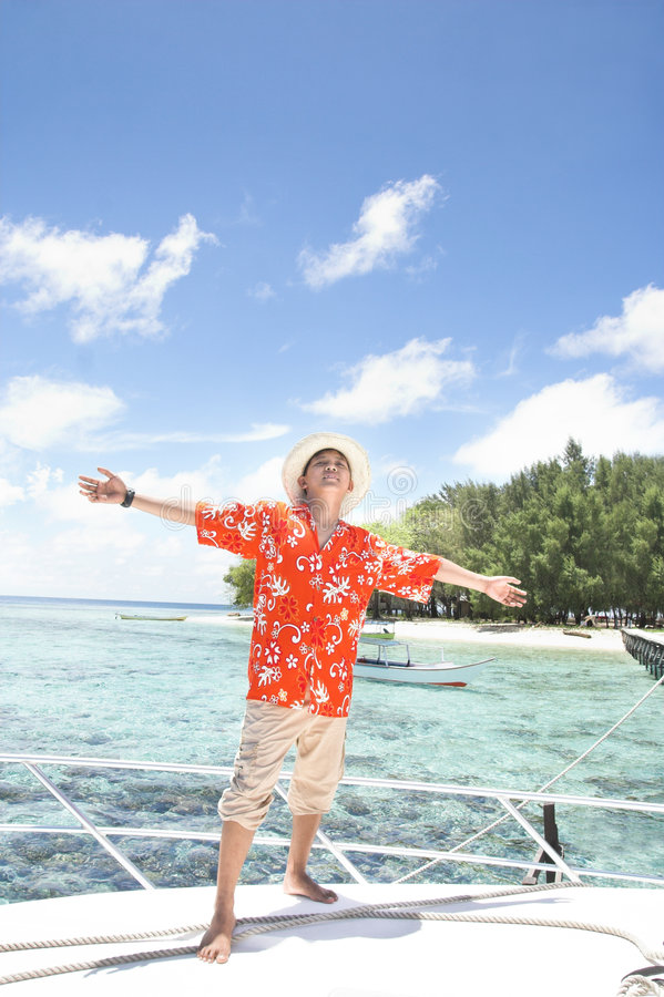 Download Tropical island vacation stock photo. Image of land, good - 7038798