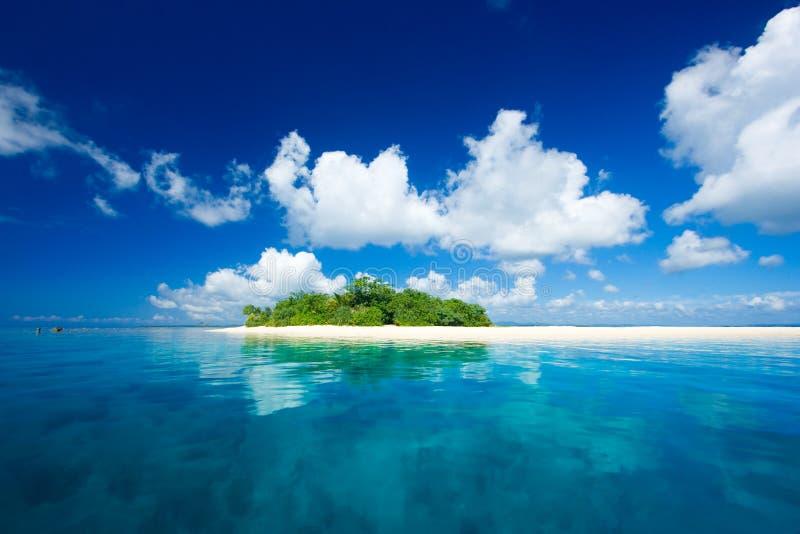 Tropical island vacation paradise stock photography